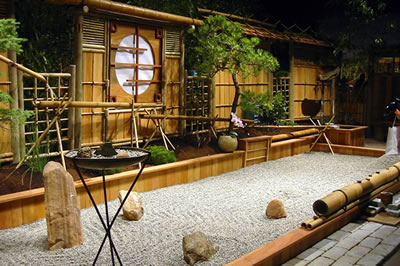 Xanadu healing center zen garden for Aziatisch interieur